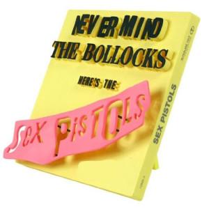 "Pop Culture 3D Album Art: ""Never Mind the Bollocks - Here's the Sex Pistols"""
