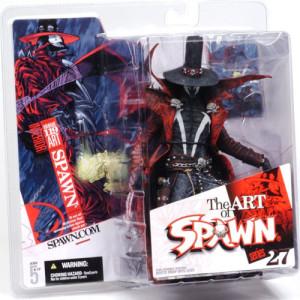 """Spawn: Series 27 - Issue 119 Interior Art """"Gunslinger"""" 6 Inch Action Figure"""