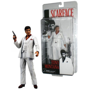Scarface – 7? Action Figure White Suit