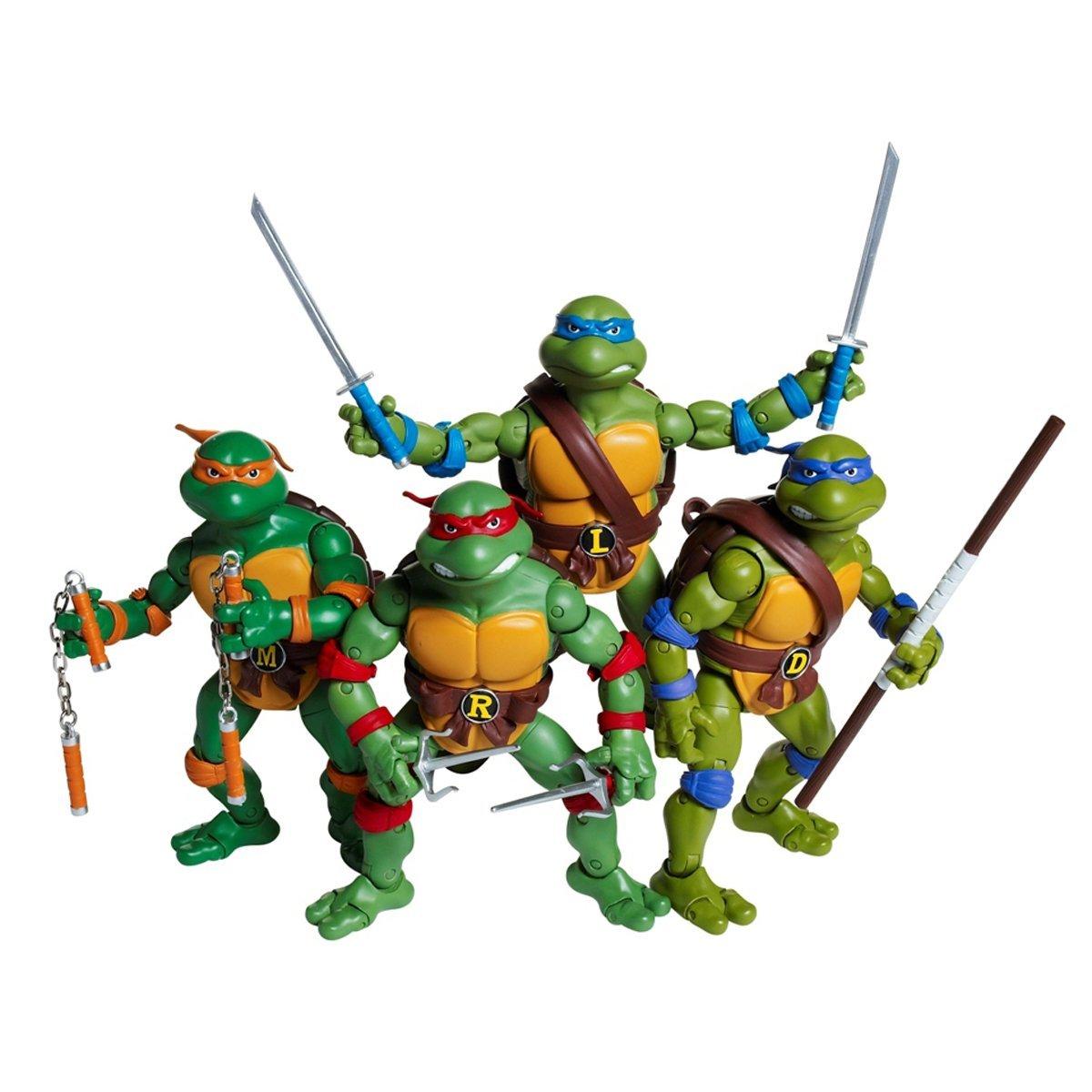 Teenage Mutant Ninja Turtles Toys : Teenage mutant ninja turtles classic set of figures by