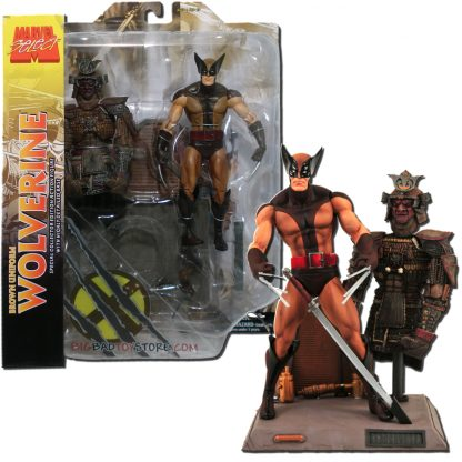 Marvel Select: Wolverine Brown Suit (Samurai)