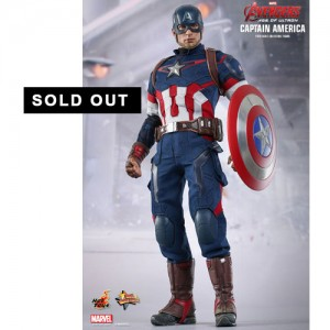 Hot Toys: MMS281 Avengers Age of Ultron Captain America 1/6 Scale Collectible Figure