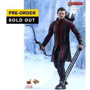 Hot Toys: MMS289 Avengers Age of Ultron Hawkeye 1/6 Scale Collectible Figure