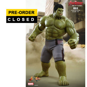Hot Toys: MMS287 Avengers Age of Ultron Hulk 1/6 Scale Collectible Figure (Deluxe Edition)