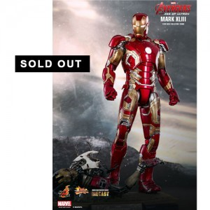Hot Toys: MMS278D09 Avengers Age of Ultron Iron Man Mark 43 1/6 Scale Collectible Figure (Die Cast)