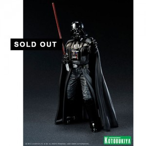 Kotobukiya ArtFX+ Star Wars Darth Vader Return of Anakin Skywalker Statue (Re-Release)