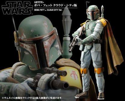 "Kotobukiya ArtFX+ Star Wars Boba Fett Empire Strikes Back ""Cloud City Version"" Statue (Re-Release)"