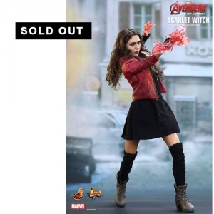 Hot Toys: MMS301 Avengers Age of Ultron Scarlet Witch 1/6 Scale Collectible Figure
