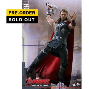 Hot Toys: MMS306 Avengers Age of Ultron Thor 1/6 Scale Collectible Figure