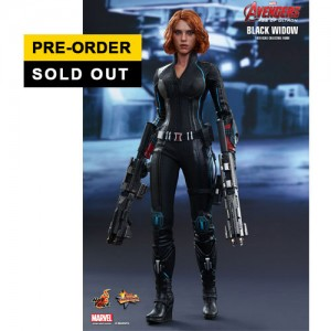 Hot Toys: MMS288 Avengers Age of Ultron Black Widow 1/6 Scale Collectible Figure