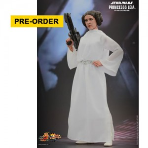 "Hot Toys: MMS298 Star Wars: Episode IV ""A New Hope"" Princess Leia 1/6 Scale Collectible Figure"