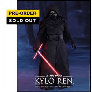 Hot Toys: MMS320 Star Wars: The Force Awakens - 1/6th scale Kylo Ren Collectible Figure