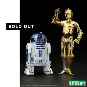 Kotobukiya ArtFX+ Star Wars R2D2 / C3P0 2 Pack Statue Set