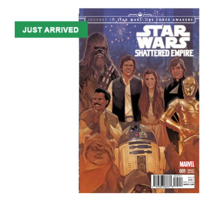Star Wars: Shattered Empire Journey to The Force Awakens Standard Cover Edition 001