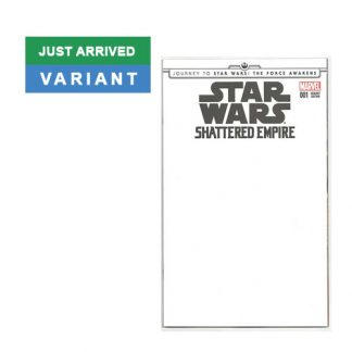 "Star Wars: Shattered Empire Journey to The Force Awakens ""Blank Variant"" Edition 001"
