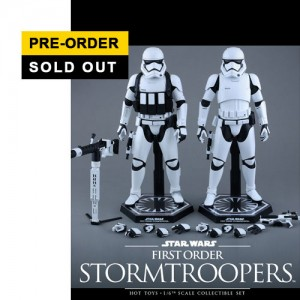 Hot Toys: MMS319 Star Wars: The Force Awakens - 1/6th scale First Order Stormtrooper Collectible Figure