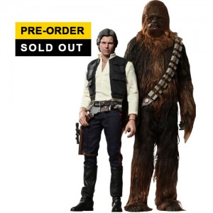 "Hot Toys: Star Wars: Episode IV ""A New Hope"" Han Solo & Chewbacca [Sold Out]"