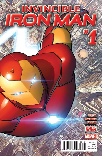 Marvel: Invincible Iron Man (2015) #1