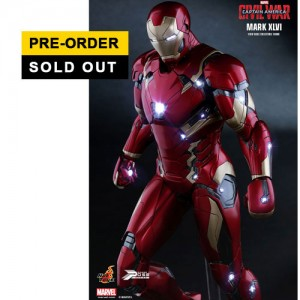 Hot Toys : PPS003 Captain America / Civil War: Iron Man Mark XLVI 1/6 Scale Power Pose