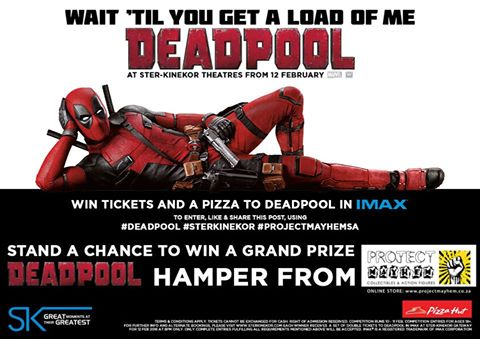 Deadpool Chimichanga Night - 12/02/2016, 8PM, IMAX, Gateway, Durban