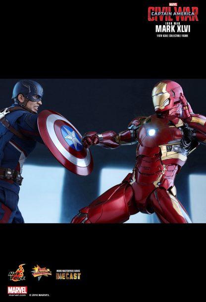 Hot Toys : MMS353D16 Captain America: Civil War Iron Man Mark XLVI 1/6 Scale Collectible Figure