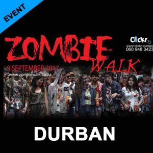 Zombie Walk - Durban 9 September 2017