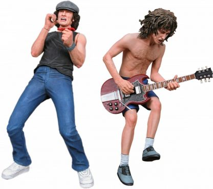 AC/DC – 7? Action Figure – Brian Johnson & Angus Young 2-Pack
