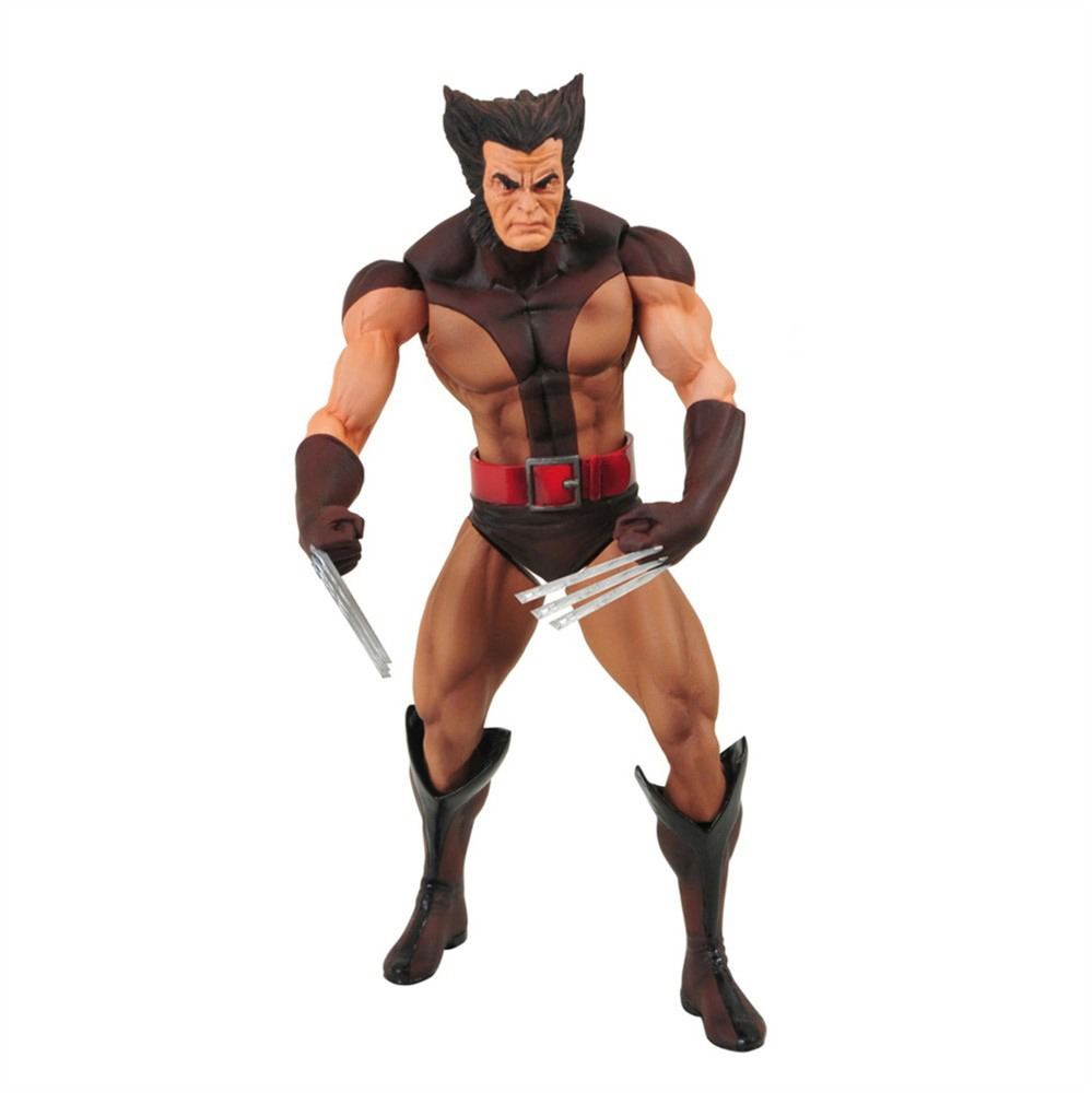 Marvel Select: Wolverine (Brown Suit - Unmasked) | Project Mayhem ...