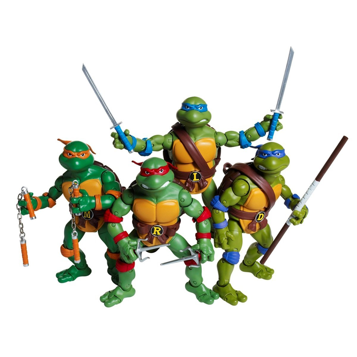 Ninja Turtles Toys : Teenage mutant ninja turtles classic set of figures by