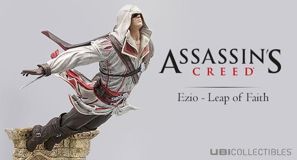 Assassin S Creed Ezio Leap Of Faith Statue Project Mayhem