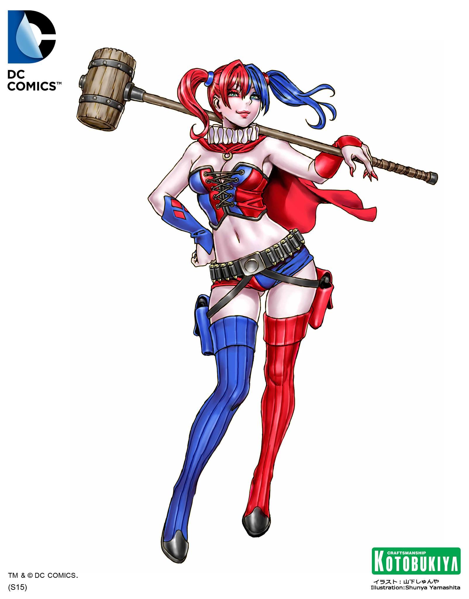 BISHOUJO DC COMICS HARLEY QUINN STATUE NEW 52 VERSION Action- & Spielfiguren