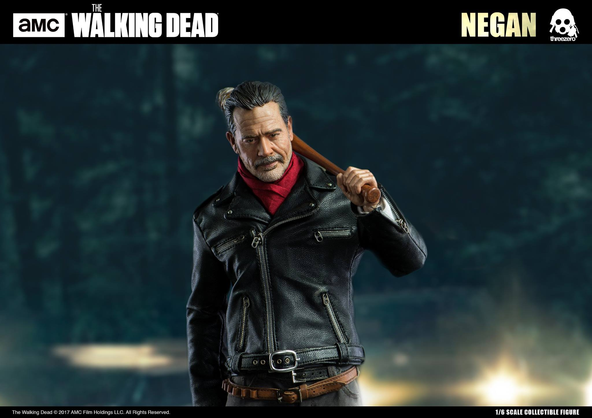 1//6 Scale The Walking Dead Negan Figure with Lucille Full Set SHIP FROM USA