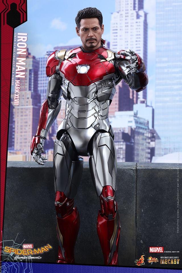 Hot Toys Mms427d19 Spider Man Homecoming Iron Man Mark
