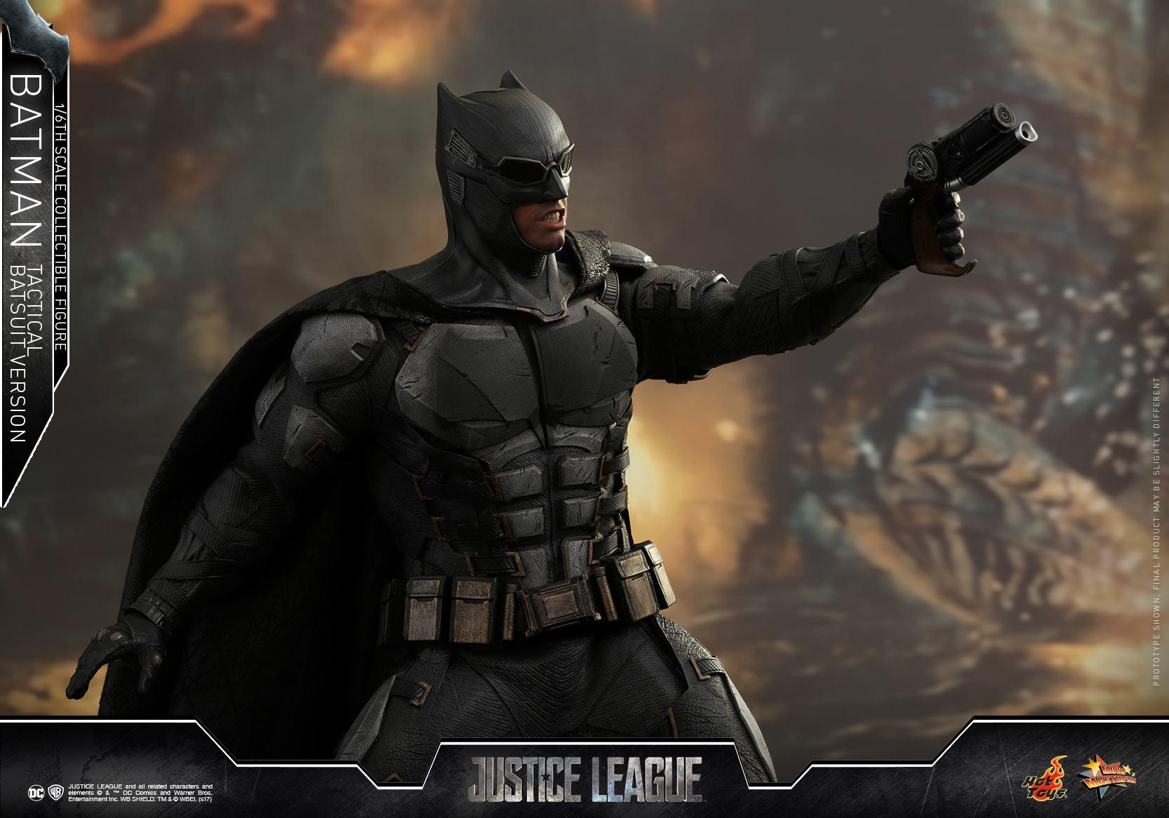 Hot Toys 1//6 MMS432 Justice League Batman Goggles #1 Tactical Batsuit