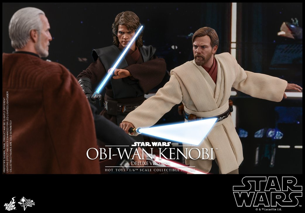 Hot Toys Mms478 Star Wars Episode Iii Revenge Of The Sith Obi Wan Kenobi Deluxe Version 1 6 Scale Collectible Figure Project Mayhem Collectibles Action Figures Durban South Africa