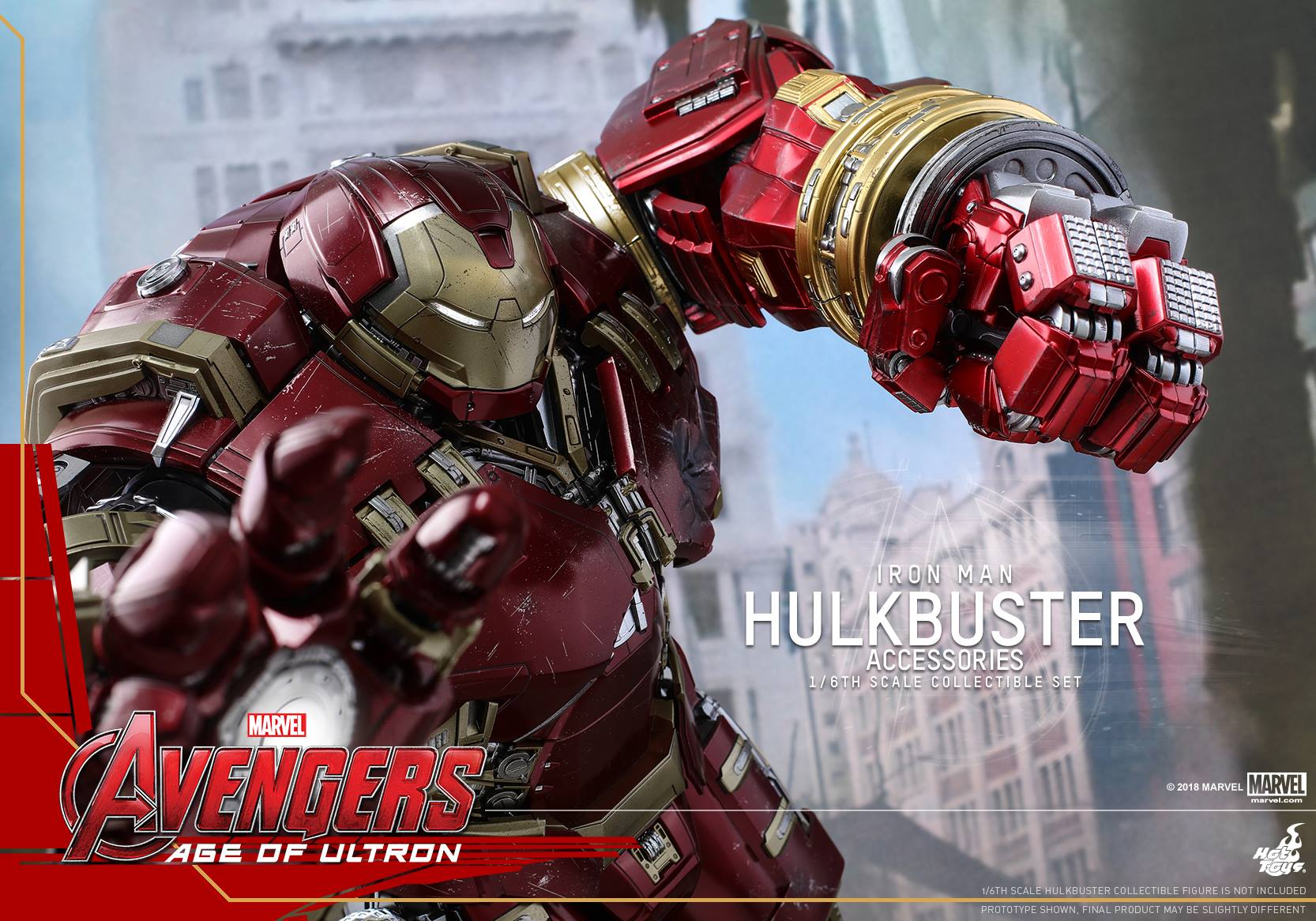 Hot Toys: ACS006 Avengers: Age of Ultron Hulkbuster Accessories 1/6 Scale  Collectible Set